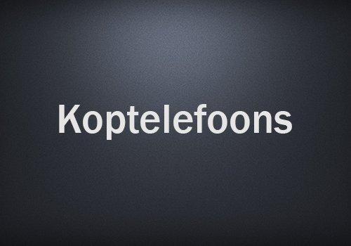Koptelefoons