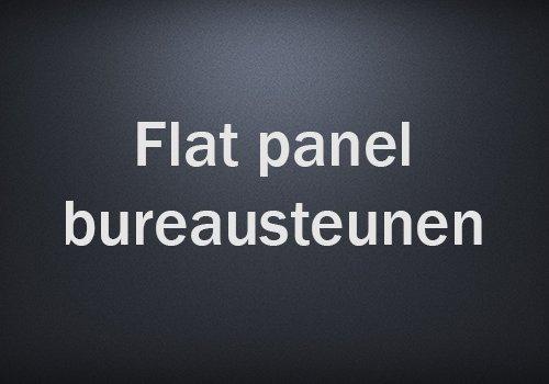 Flat-panel-bureausteunen