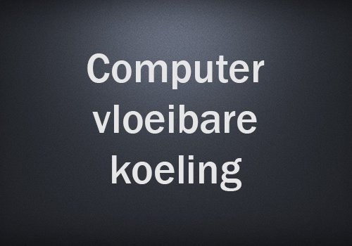 Computer vloeibare koeling