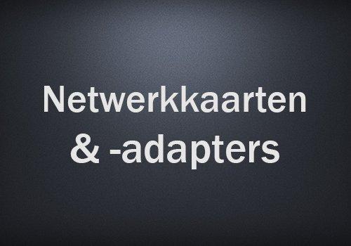 Netwerkkaarten & -adapters