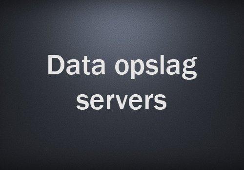 Data-opslag-servers