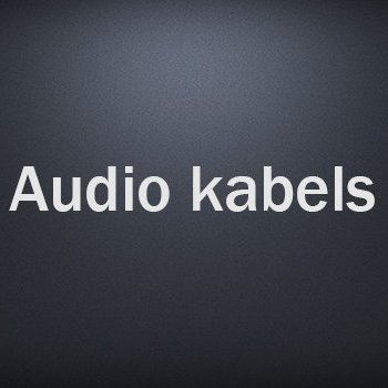 Audio kabels