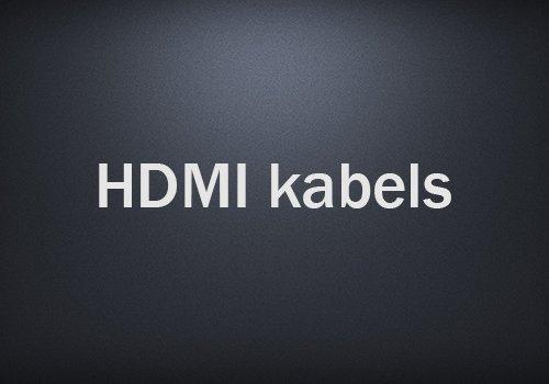 HDMI-kabels