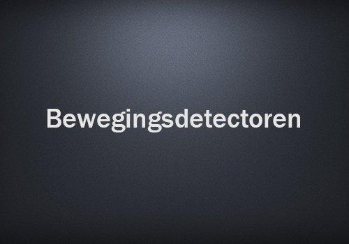 Bewegingsdetectoren