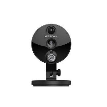 Foscam C2 IP-beveiligingscamera Binnen Doos Zwart 1920 x 1080 Pixels
