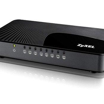 ZyXEL Zyxel GS-108S v2 Gigabit Ethernet (10/100/1000) Zwart