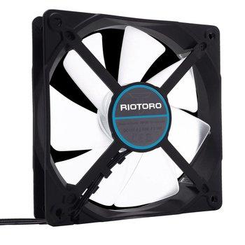 Riotoro Case Cooler 120mm CrossX Blue LED 1500 RPM