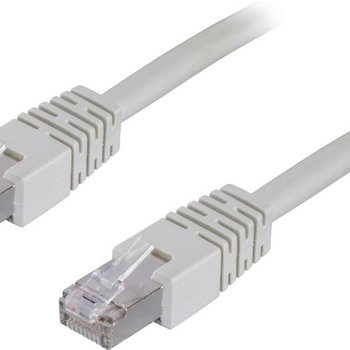 OEM Goobay 0.5m, Cat6 STP netwerkkabel 0,5 m Wit