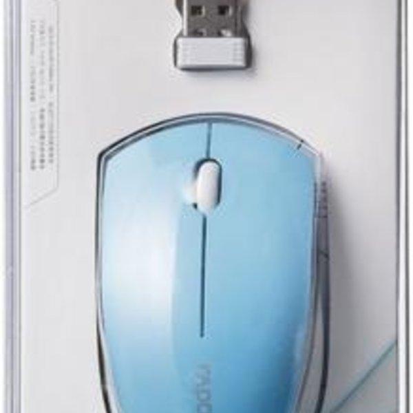 Rapoo 2.4GHz 1000 dpi optical mini mouse - blue