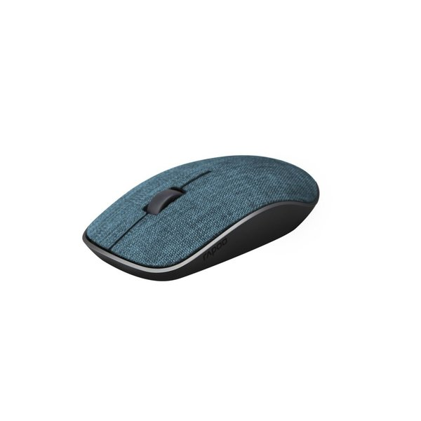 Rapoo 2.4GHz Wireless Mouse Fabric Blue