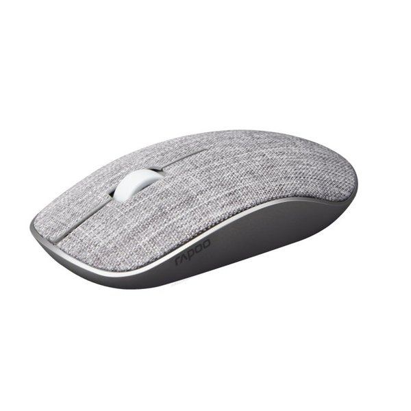 Rapoo 2.4GHz Wireless Mouse Fabric Grey
