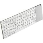 Rapoo 2.4GHz Ultra-slim Keyboard + touchpad - white