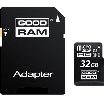Goodram Micro SD + Adapter 32GB Class10 UHS I