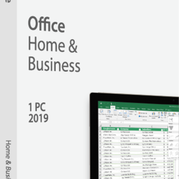 Microsoft Office Home & Business 2019 1-PC Digitale Download