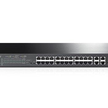TP-Link TP-LINK T1500-28PCT netwerk-switch Managed L2 Fast Ethernet (10/100) Zwart 1U Power over Ethernet (PoE)