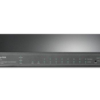 TP-Link TP-LINK T1500G-10PS Managed L2/L4 Gigabit Ethernet (10/100/1000) Zwart Power over Ethernet (PoE)