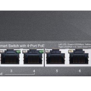 TP-Link TP-LINK TL-SG108PE netwerk-switch Unmanaged Gigabit Ethernet (10/100/1000) Power over Ethernet (PoE)