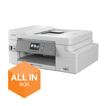 Brother Draadloze inkjetprinter DCP-J1100DW All-In-Box bundel