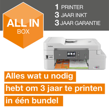 Brother Draadloze inkjetprinter MFC-J1300DW All-in-Box bundel