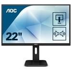 AOC Mon  22P1D 21.5 / PIVOT / H-Vest / HDMI / SPK