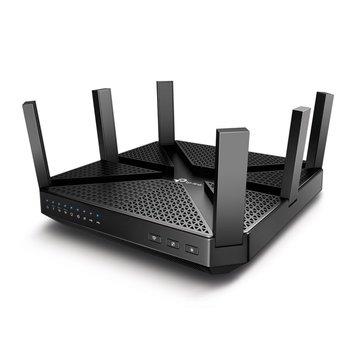 TP-Link TP-LINK Archer C4000 draadloze router Tri-band (2.4 GHz / 5 GHz / 5 GHz) Gigabit Ethernet Zwart