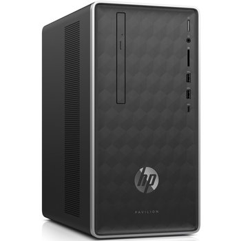 Hewlett Packard HP Pav. 590 Desk i3 8100 / 8GB / 128GB+1TB / GTX1050 / W10