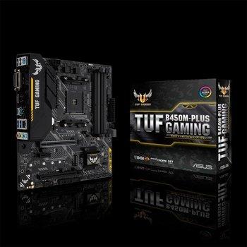 Asus ASUS TUF B450M-PLUS GAMING moederbord Socket AM4 Micro ATX AMD B450