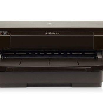 Hewlett Packard HP Officejet 7110 Wide Format ePrinter inkjetprinter Kleur 4800 x 1200 DPI A3 Wi-Fi