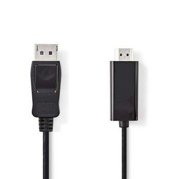 OEM Nedis CCGP37100BK10 DisplayPort kabel 1 m HDMI Zwart