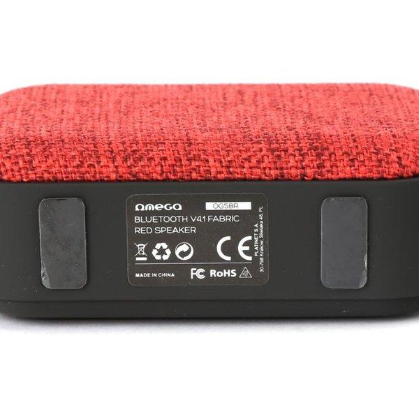Platinet Omega Bluetooth speaker V4.1 / 5 uur Accu / RADIO FM / Red