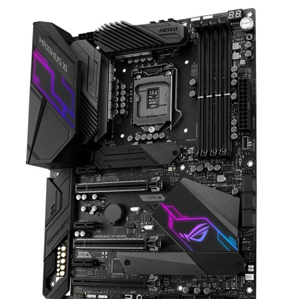 Asus MB  ROG Maximus XI Hero Z390 / 8th gen comp. / HDMI/ ATX