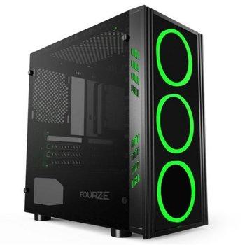 """OEM Case FOURZE T150 Micro ATX """" Giant power """" - no PSU"""