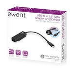 """Ewent USB 3.1 Gen1 USB-C  to 2.5"""" SATA  Adapter Cable for SS"""
