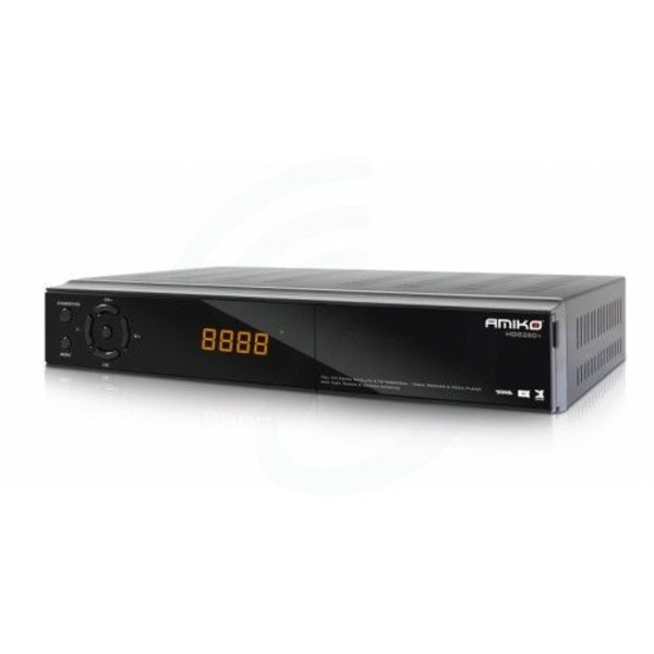 Amiko Amiko HD8260+ Full HD satelliet, kabel en terrestrische hybrid ontvanger