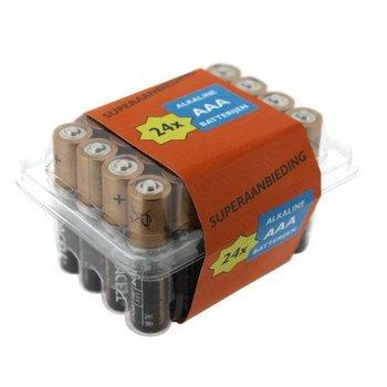 Duracell Duracell Alkaline AAA Baterijen 24 stuks