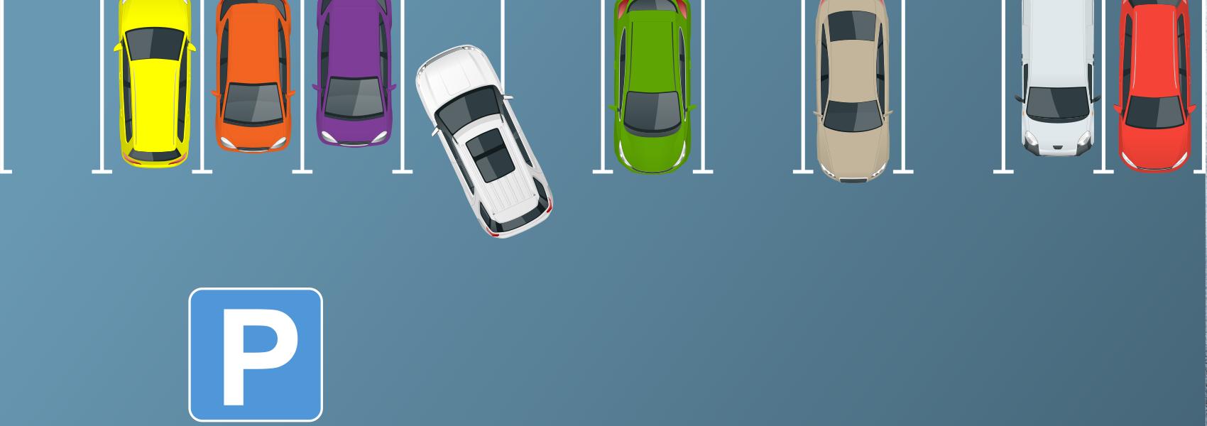Gratis parkeren voor de deur!
