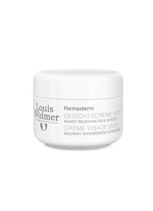 Louis Widmer Louis Widmer remerderm gezichtscreme Uv 20 Zonder parfum