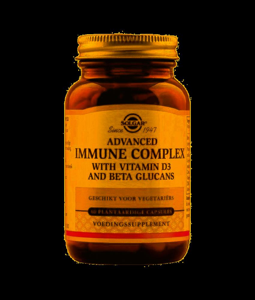 Solgar Vitamin D-3 Immune Complex plantaardige capsules