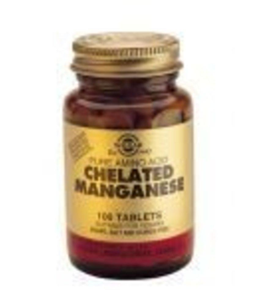 Solgar Solgar Chelated Manganese tabletten