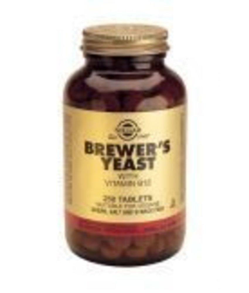 Solgar Solgar Brewer's Yeast Biergist tabletten