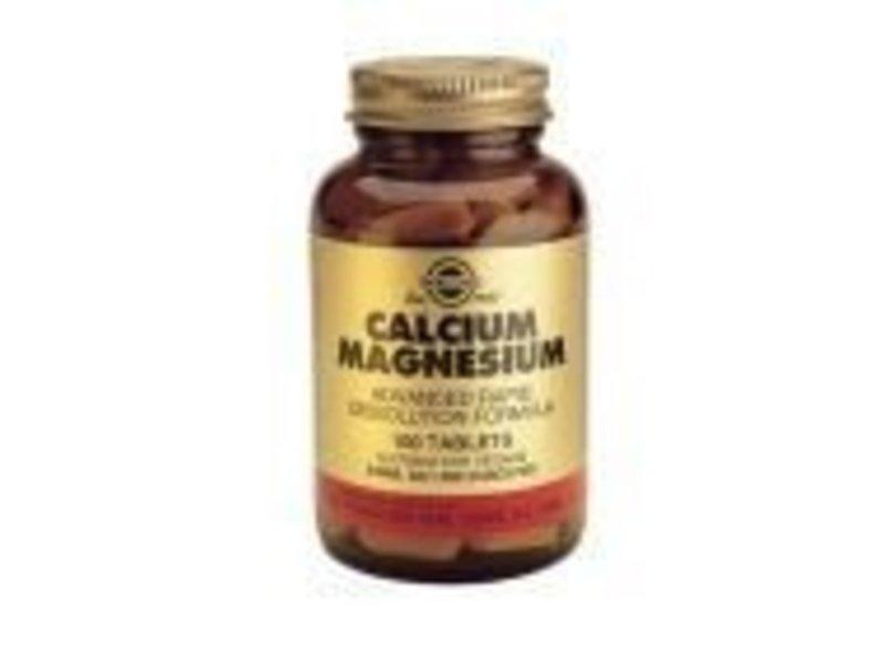 Solgar Solgar Calcium/Magnesium tabletten