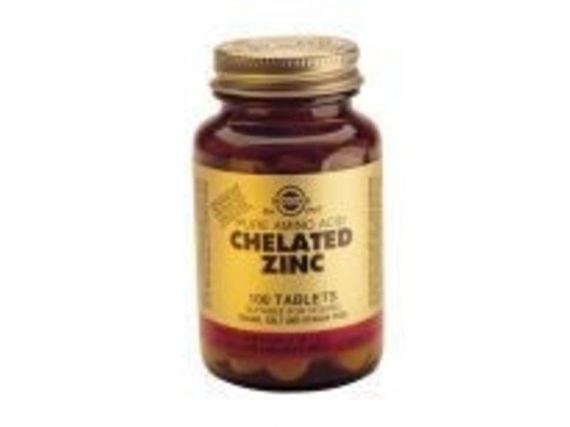 Solgar Solgar Chelated Zinc tabletten