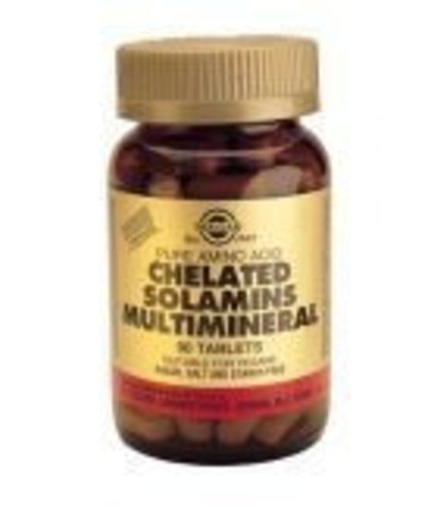 Solgar Solgar Chelated Solamins Multimineral tabletten