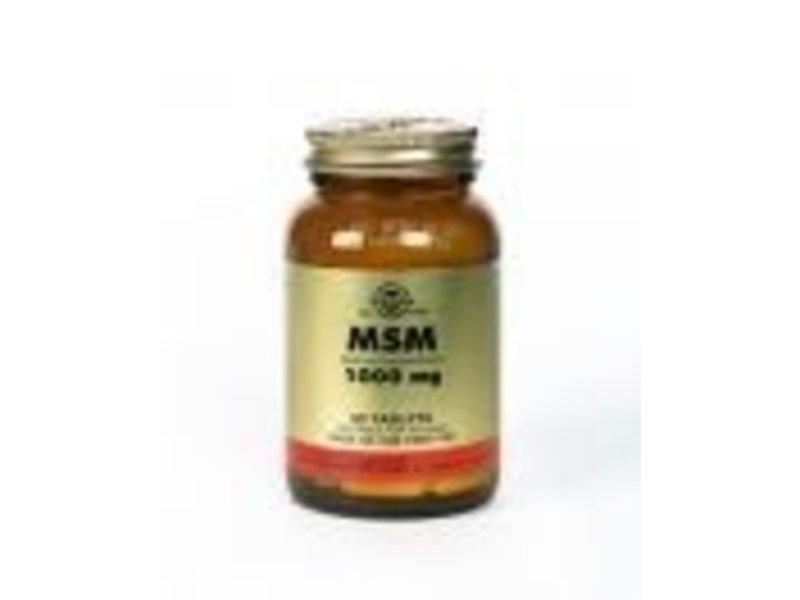 Solgar Solgar MSM 1000 mg tabletten