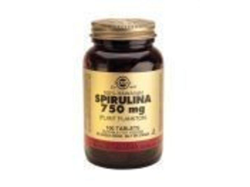 Solgar Solgar Spirulina 750 mg tabletten