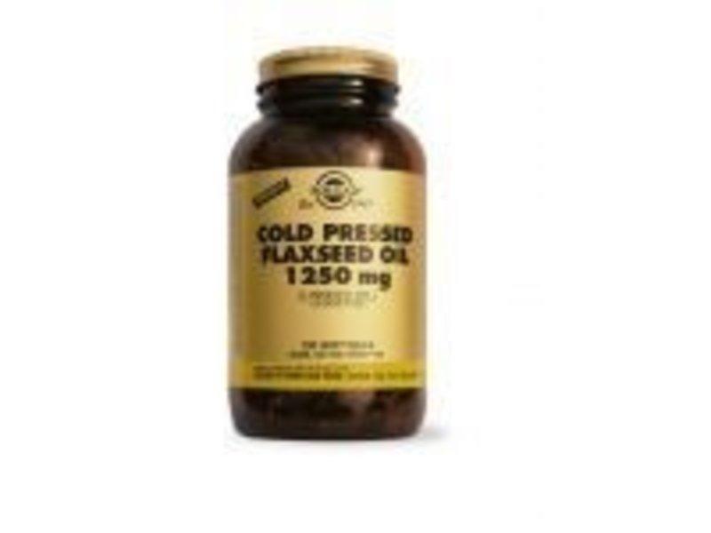Solgar Solgar Flaxseed Oil 1250 mg Lijnzaadolie Softgels