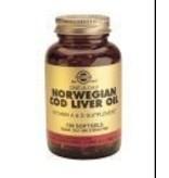Solgar Solgar Cod Liver Oil Levertraan softgels