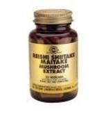 Solgar Solgar Reishi Shiitake Maitake Extract plantaardige capsules