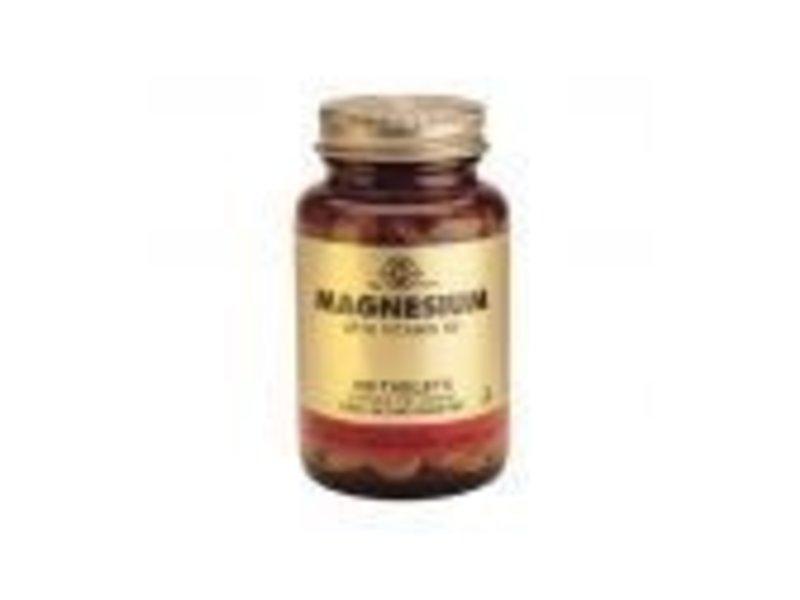 Solgar Solgar Magnesium with Vitamin B-6 tabletten