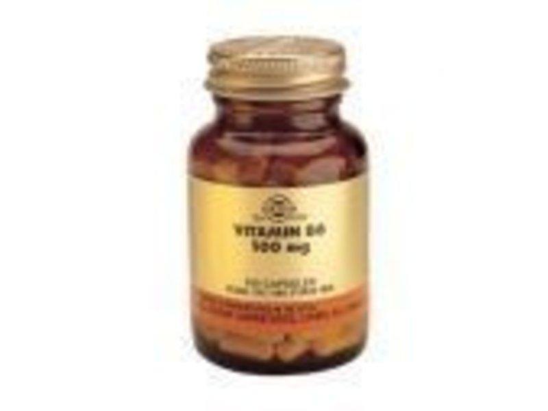 Solgar Solgar Vitamin B-6 100 mg plantaardige capsules